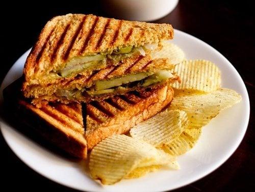 grilled veg sandwich recipe