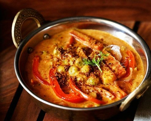 veg kadai capsicum recipe
