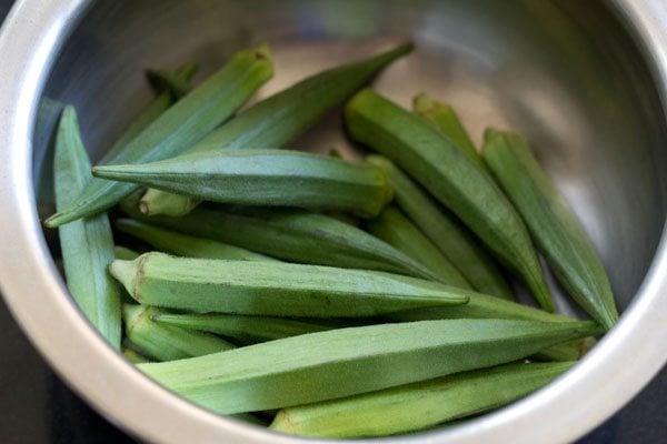 bhindi for bhindi stir fry recipe