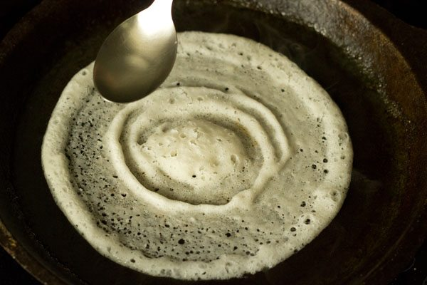 making dosa batter and dosa recipe