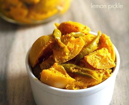 lemon pickle - pickle recipes