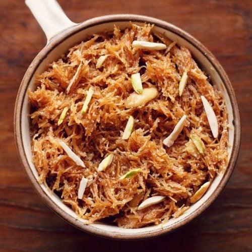 meethi seviyan recipe, sweet vermicelli recipe, dry seviyan recipe