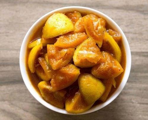nimbu achaar - pickle recipes