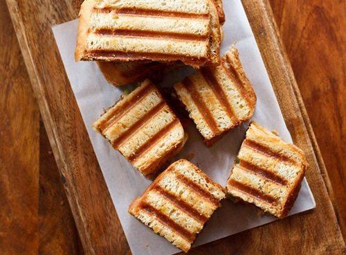 rajma sandwich recipe