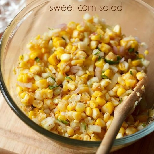 corn salad recipe, sweet corn salad recipe