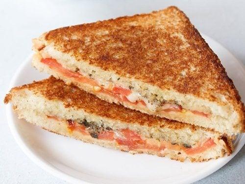 tomato cheese sandwich recipe