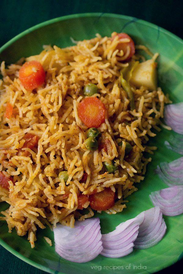 veg biryani recipe mangalore style