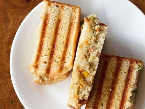 curd sandwich recipe