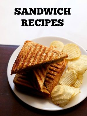 sandwich recipes, collection of 40 veg sandwich recipes