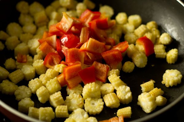 making baby corn fry recipe