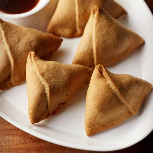 baked samosa recipe, aloo samosa recipe