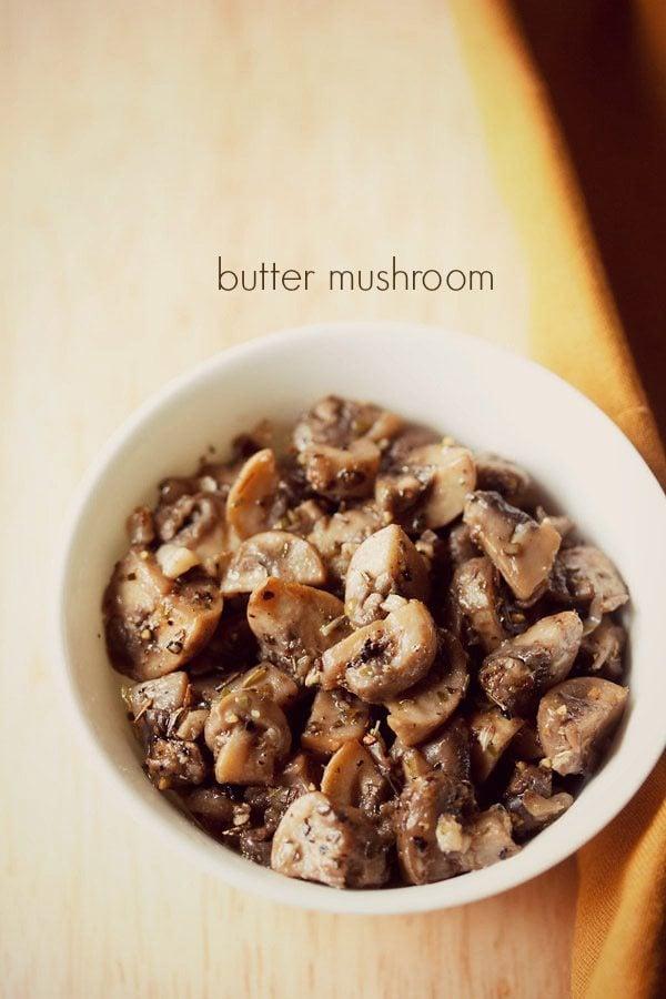 Butter Mushroom Recipe, How To Make Garlic Butter Mushroom Recipe