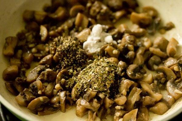 making butter mushroom recipe