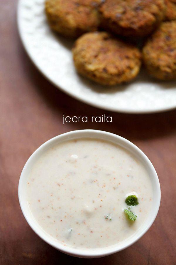 jeera raita recipe, how to make jeera raita | cumin raita recipe