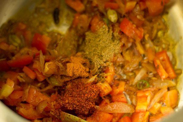 spices to make lobia pulao recipe