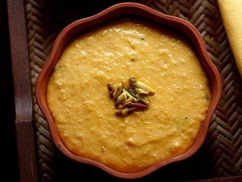 mango phirni recipe