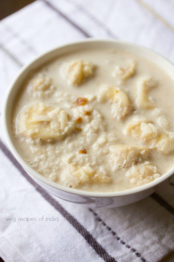 milk poha recipe