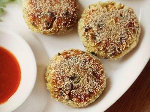 mushroom cutlet recipe