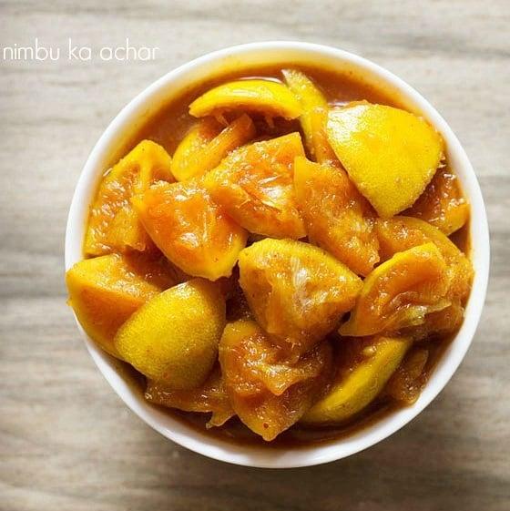 Nimbu Ka Achar Recipe Khatta Meetha Nimbu Achar Recipe