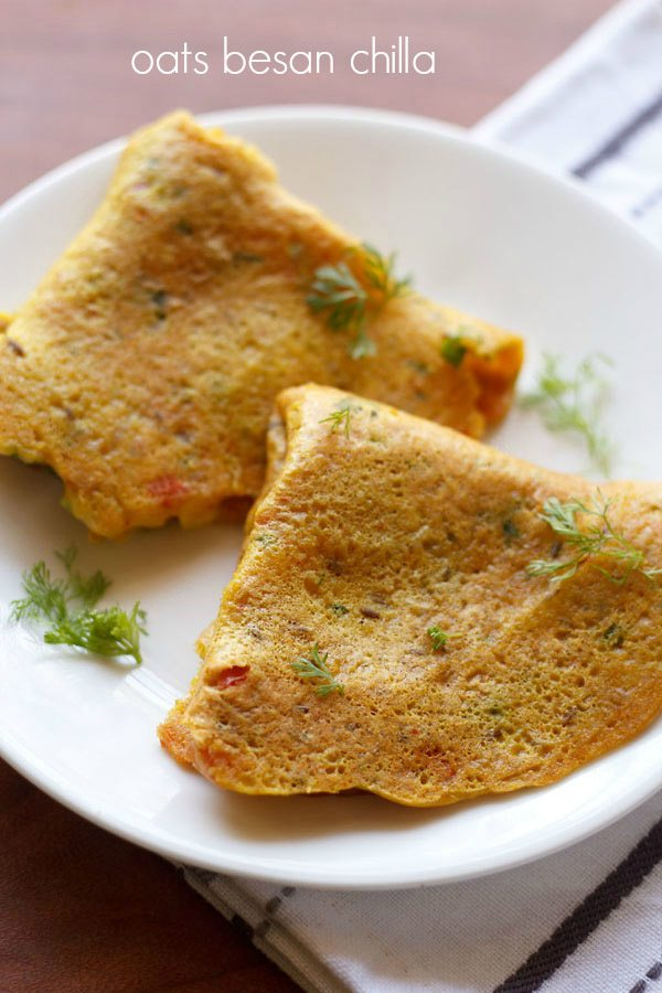 oats chilla recipe