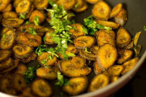 vazhakkai fry recipe, raw banana fry recipe