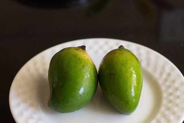 raw mango salad recipe