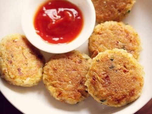 rice cutlet recipe