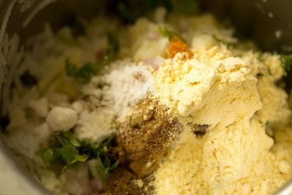 besan to make rice cutlet recipe