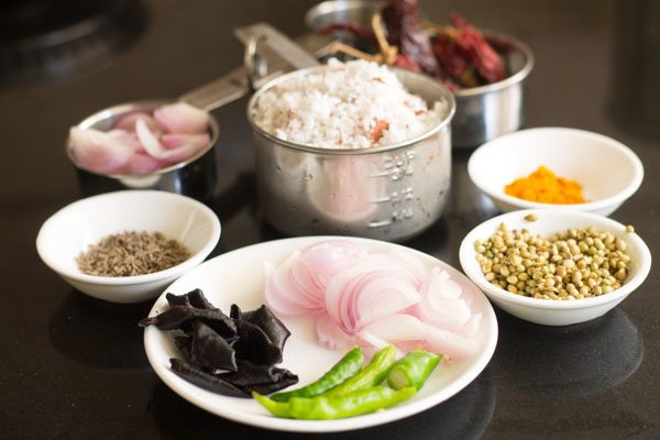 ingredients for sorak curry recipe