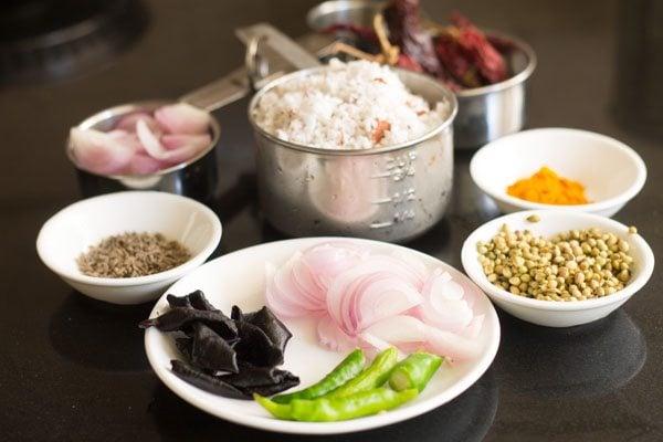 ingredients for sorak curry