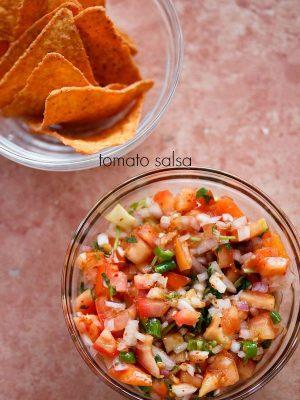 tomato salsa recipe