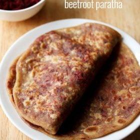 beetroot paratha, beetroot paratha recipe