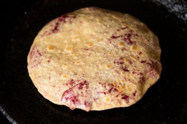 cooking - beetroot paratha recipe