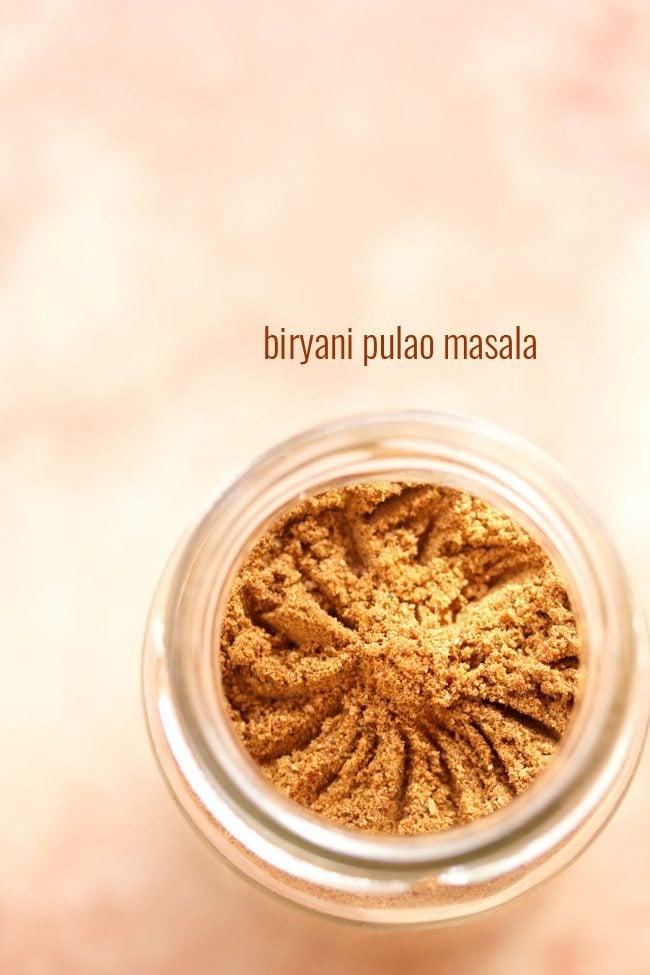how to make biryani masala powder at home in telugu