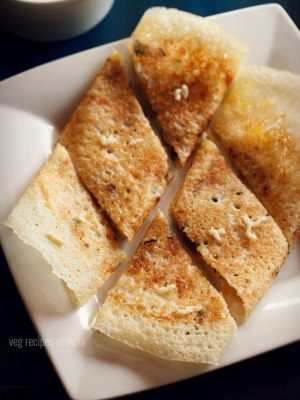 butter cheese dosa recipe