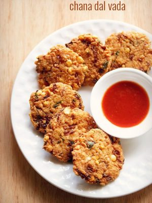 dal vada recipe, chana dal vada recipe