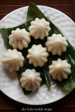 dry fruits modak recipe, modak recipes | ganesh chaturthi recipes