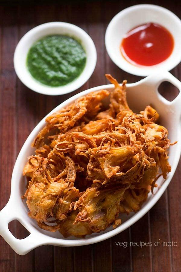 kanda bhaji recipe, kanda bhaji