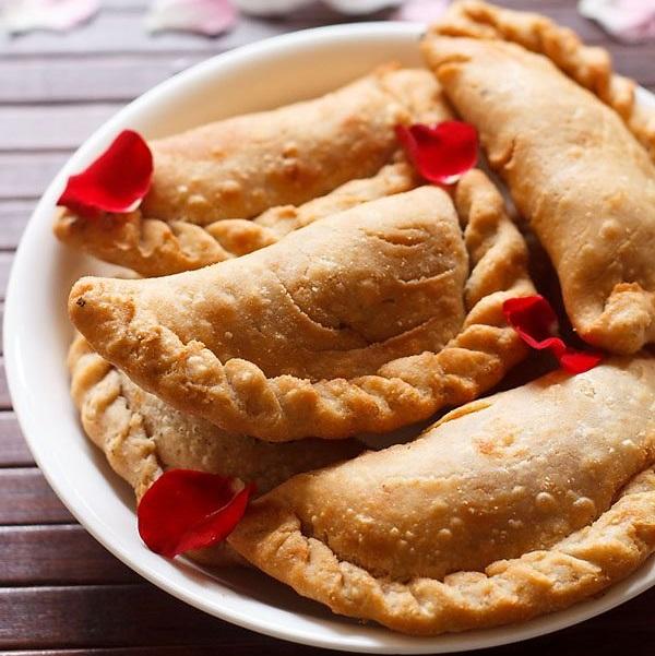 dry fruits karanji recipe