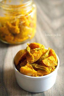 lemon pickle recipe, how to make lemon pickle | nimbu ka achaar
