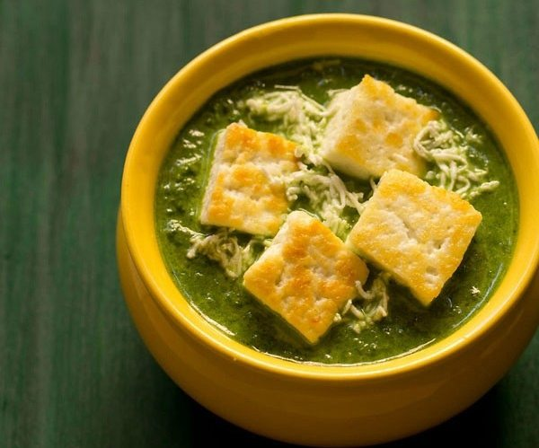 palak paneer restaurant style veg recipes