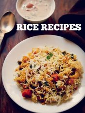 top 35 rice recipes | collection of 35 best indian rice recipes | veg rice recipes