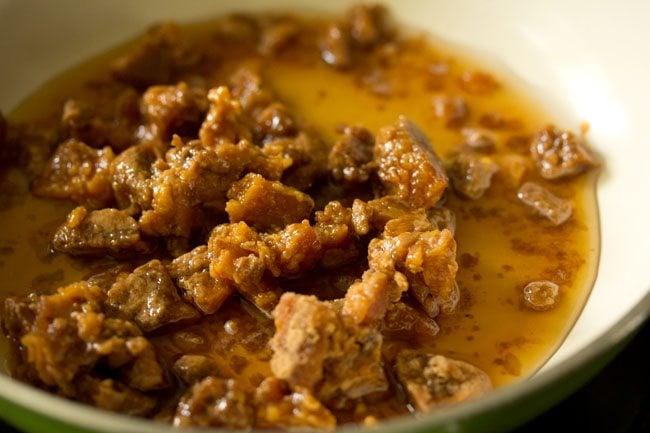 making sakkarai or sweet pongal recipe