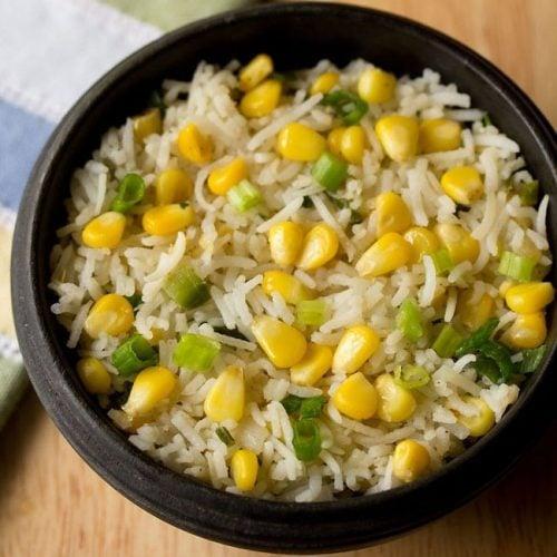corn fried rice recipe