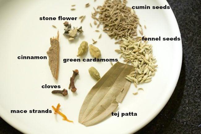 spices for tomato biryani recipe