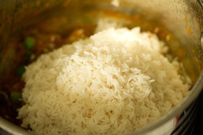 rice for tomato biryani recipe