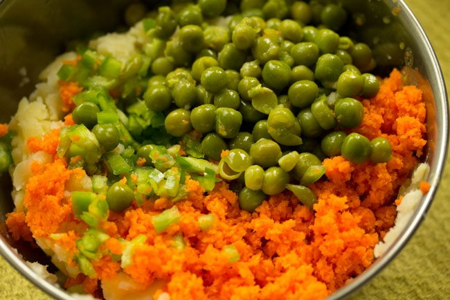 veggies for veg nuggets recipe