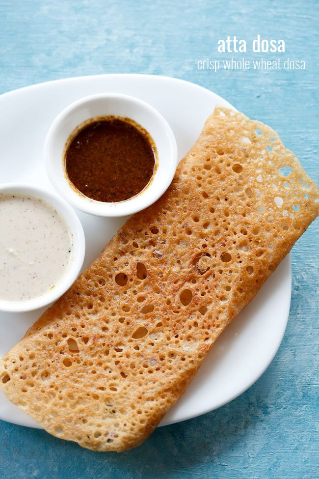 wheat dosa recipe, wheat flour dosa
