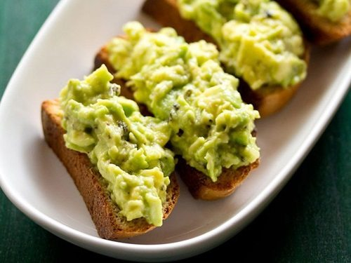 avocado garlic bread toast recipe