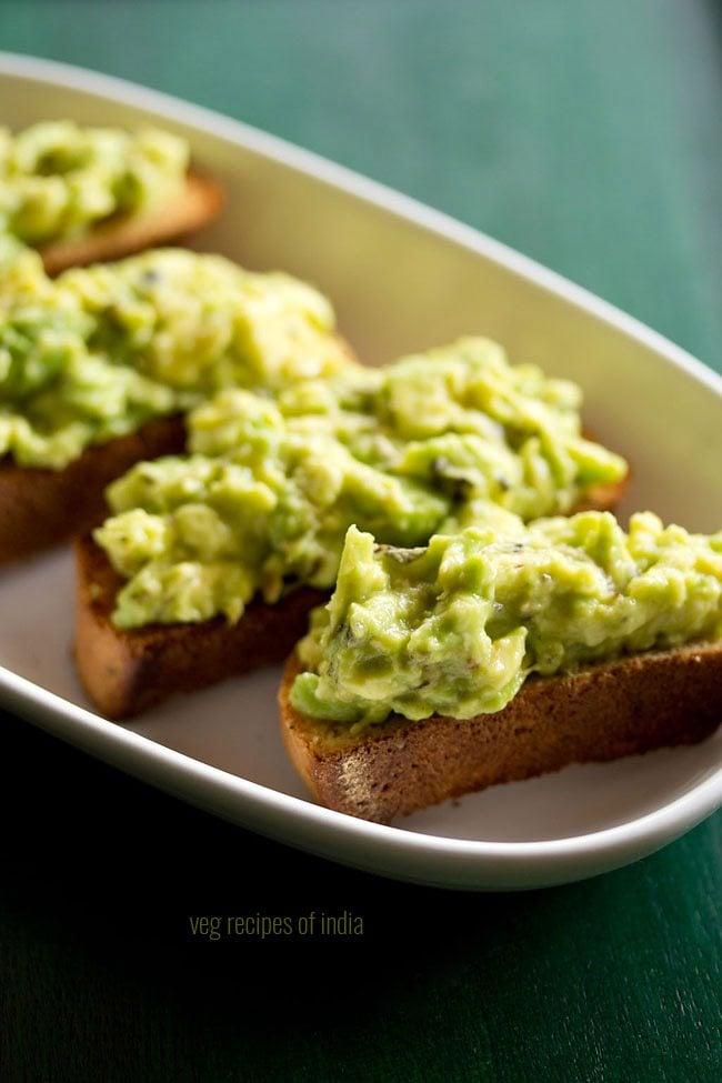 avocado garlic bread toast recipe